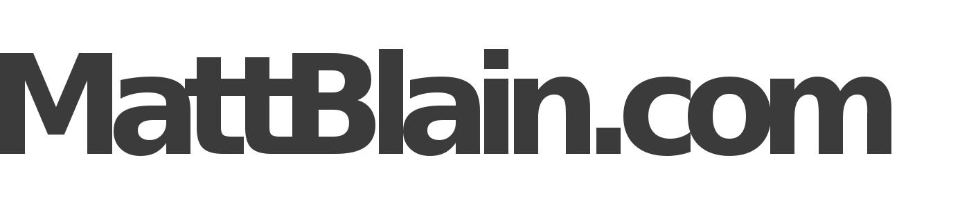 MattBlain.com